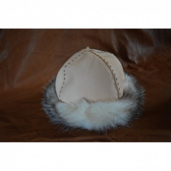 Birka style hat with Opussum Fur
