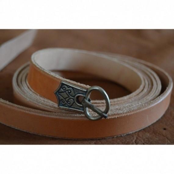 Rus viking type belt, 2 metre long.