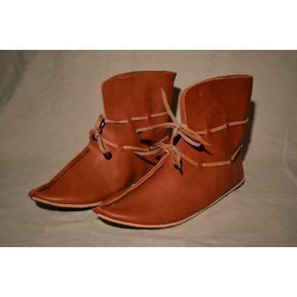 Tall, Handmade viking shoes